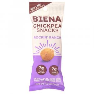 Biena Chickpea Rockin' Ranch Snacks