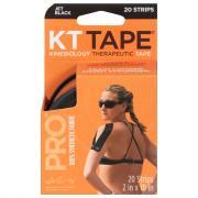 KT Elastic Sports Tape Jet Black Pro Synthetic
