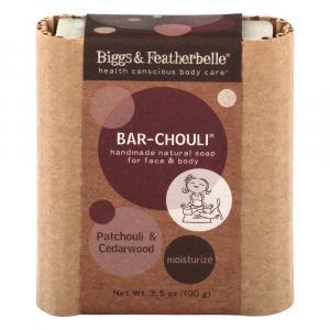 Bigg's & Featherbelle Bar-Chouli Handmade Natural Soap