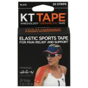 KT Elastic Sports Tape Black