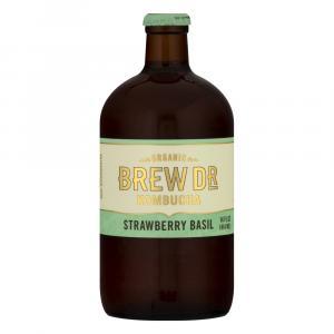 Brew Dr. Kombucha Organic Strawberry Basil