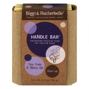 Bigg's & Featherbelle Handle Bar Handmade Natural Soap
