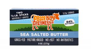 Casco Bay Creamery Sea Salted Butter