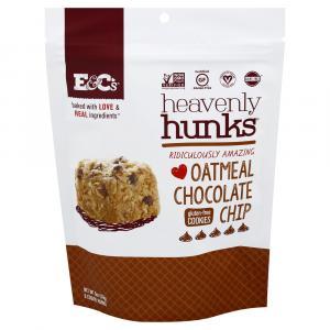 Heavenly Hunks Gluten Free Oatmeal Chocolate Chip Cookies
