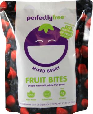 Perfectly Free Mixed Berry Fruit Bites
