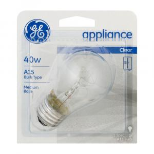 GE 40w Appliance Clear Bulb