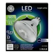 GE LED 15w (90w Equivalent) Bright White Outdoor Floodlight