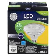 GE LED Soft White 12w (75 Equivalent) Outdoor Floodlight
