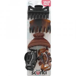 Scunci Assorted Jaw Clips