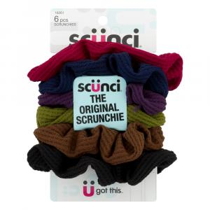 Scunci Effortless Beauty Textured Knit Scrunchies