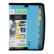 Mead Five Star 7 Pocket Expandable File With Pull Tabs