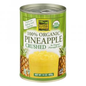 Native Forest Organic Crushed Pineapple