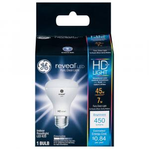GE LED Reveal HD 7w (45w Replacement) Indoor Floodlight