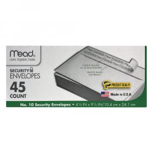 Mead Press It Seal It Self Adhesive Security Envelopes
