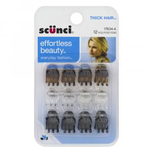 Scunci Thick Hair Jaw Clips