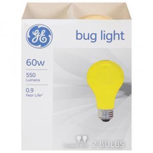 GE 60w Outdoor Bug Light Bulbs