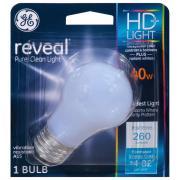 GE Reveal HD 40w Vibration Resistant Bulb