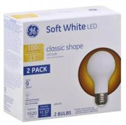 GE LED 13w (100w Equivalent) Soft White Classic Shape Bulbs