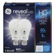 GE LED 10.5w Reveal High Def Plus Bulbs