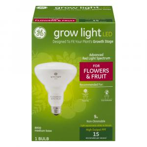GE Grow Light LED for Flowers & Fruit Non-Dimmable Bulb