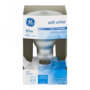 GE 65w (610 Lumens) Soft White Indoor Floodlight