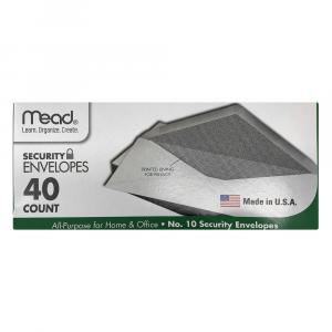 """Mead Security 10"""" Envelopes"""