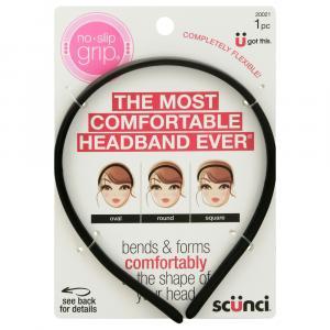 Scunci No Slip Grip Bendable Headband