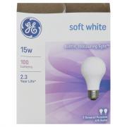GE 15w Soft White Bulbs