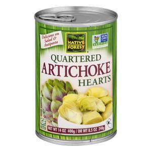 Native Forest Quartered Artichoke Hearts
