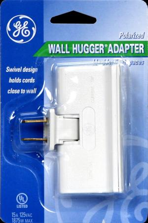 General Electric Polarized Wall Hugger Adapter