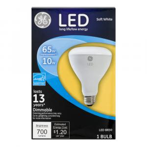 GE LED 10w (65w Replacement) Soft White Indoor Floodlight