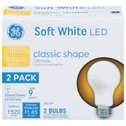 GE LED 100W Soft White Classic Shape Bulb