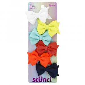 Scunci Toddler Bow Clips