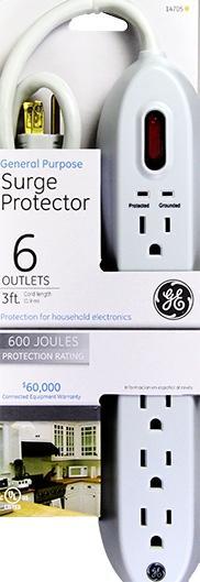 General Electric Surge Pro Power Strip