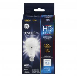 GE LED Reveal HD 13w Bulb