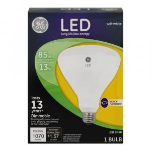 GE LED 13w (85w Replacement) Soft White Indoor Floodlight