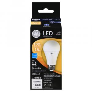 GE LED 15w (100w Replacement) Soft White Bulb