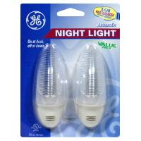 General Electric Clear Automatic Nightlights