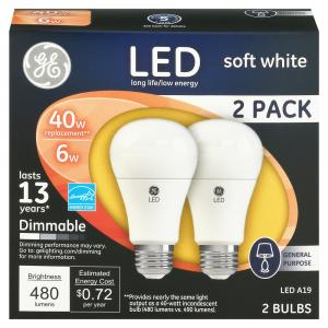 General Electric 5 Watt LED 19 S Light Bulbs