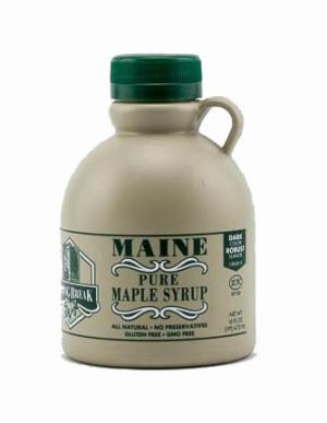 Pure Maine Maple Syrup Dark Amber