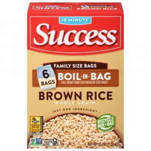 Success Boil In Bag Brown Rice