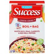Success Boil in Bag Rice with Peas, Carrots
