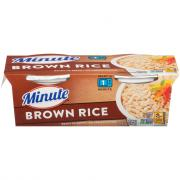 Minute Rice Ready to Serve Brown Rice