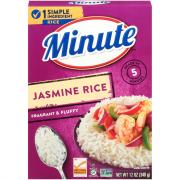 Minute Rice Jasmine Rice