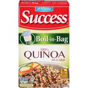 Sucess Boil-In-Bag Quinoa Tri Color