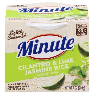 Minute Rice Ready to Serve Cilantro & Lime Jasmine Rice