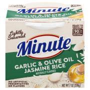 Minute Rice Ready to Serve Garlic & Olive Oil Jasmine Rice