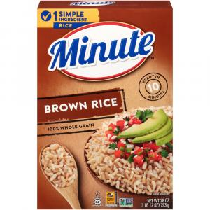 Minute Rice Instant Brown Rice