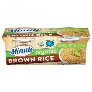 Minute Ready To Serve Organic Brown Rice