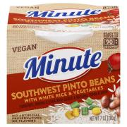 Minute Rice Ready to Serve Southwest Pinto Beans